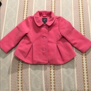 Baby GAP Pink Pea Coat